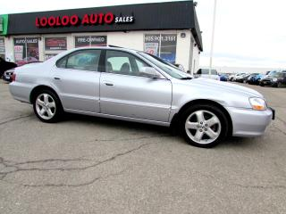 Used 2003 Acura TL Type-S AUTOMATIC LEATHER CERTIFIED 2YR WARRANTY for sale in Milton, ON