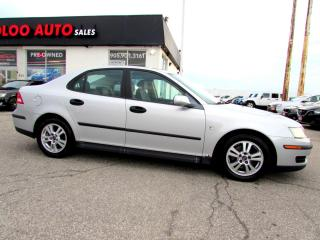 Used 2005 Saab 9-3 Linear Sport 5 Spd Manual Leather Certified 2YR Warranty for sale in Milton, ON