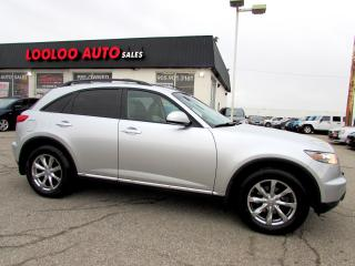 Used 2007 Infiniti FX FX35 AWD CAMERA CERTIFIED 2YR WARRANTY for sale in Milton, ON