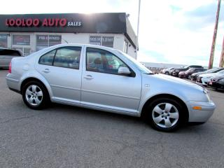 Used 2003 Volkswagen Jetta GLS 1.8T TURBO MANUAL CERTIFIED 2YR WARRANTY for sale in Milton, ON