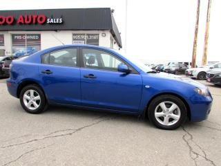 Used 2008 Mazda MAZDA3 Sport SEDAN AUTOMATIC CERTIFIED 2YR WARRANTY for sale in Milton, ON