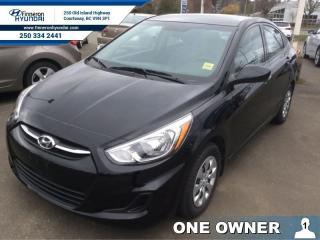 Used 2016 Hyundai Accent GL Auto  - one owner - local for sale in Courtenay, BC