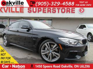 Used 2015 BMW 435i xDrive | M SPORT PACK  | LEATHER | NAV | B/U CAM for sale in Oakville, ON