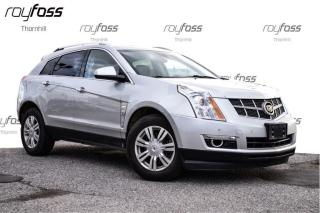 Used 2012 Cadillac SRX AWD Luxury Sunroof Rear Cam Remote Start for sale in Thornhill, ON