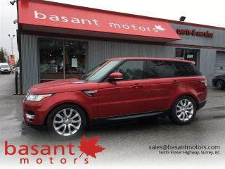 Used 2014 Land Rover Range Rover Sport HSE, 360° Camera, Nav, Panoramic Roof, Low KMs!! for sale in Surrey, BC