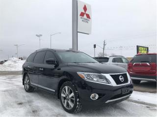 Used 2014 Nissan Pathfinder Platinum V6 4x4 at for sale in London, ON