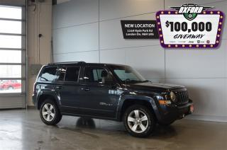 Used 2014 Jeep Patriot North - 4x4, Roof Rack, Bluetooth, Cruise for sale in London, ON