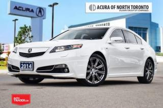 Used 2014 Acura TL A-Spec SH-AWD Accident Free| Leather|Bluetooth for sale in Thornhill, ON