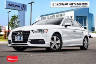 Used 2015 Audi A3 1.8T Progressiv FWD 6sp S Tronic Accident Free| Bl for sale in Thornhill, ON