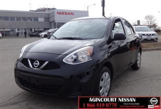 Used 2017 Nissan Micra 1.6 SV at |Bluetooth|Cruise Control|Auxiliary| for sale in Scarborough, ON