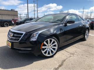 Used 2015 Cadillac ATS 2.0L Turbo RARE COUPE AWD LEATHER SUNROOF for sale in St Catharines, ON