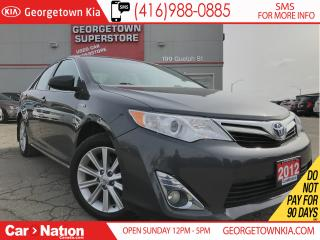 Used 2012 Toyota Camry HYBRID XLE   NAVI   KEYLESS   SUNROOF   JBL SOUND for sale in Georgetown, ON