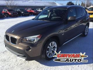 Used 2012 BMW X1 28i Xdrive Cuir Toit for sale in Trois-rivieres, QC