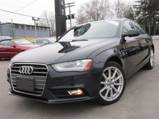 Used 2014 Audi A4 2.0T PROGRESSIV~NAVIGATION~65KMS~ONE OWNER !!! for sale in Burlington, ON
