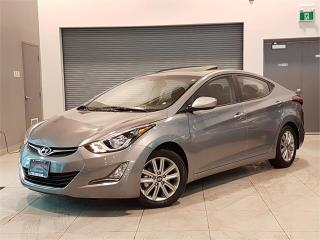 Used 2016 Hyundai Elantra SE-SPORT-AUTO-SUNROOF-CAMERA-ONLY 76KM for sale in York, ON