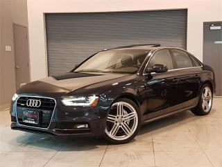 Used 2015 Audi A4 PLUS S LINE-NAVIGATION-CAMERA-LOADED for sale in York, ON