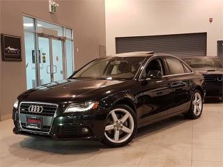 Used 2012 Audi A4 PREMIUM-QUATTRO-AUTO-SUNROOF-ONLY 86KM for sale in York, ON