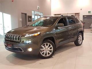 Used 2015 Jeep Cherokee LIMITED 4X4 **NAVIGATION-LEATHER-WARRANTY** for sale in York, ON