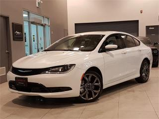 Used 2016 Chrysler 200 S-SPORT-LEATHER-PANO ROOF-ONLY 52KM for sale in York, ON