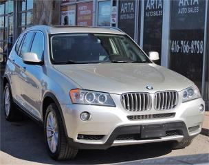 Used 2011 BMW X3 35i for sale in Etobicoke, ON