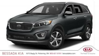 New 2018 Kia Sorento LX V6 for sale in Pickering, ON
