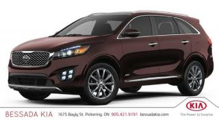 New 2018 Kia Sorento SX V6 for sale in Pickering, ON