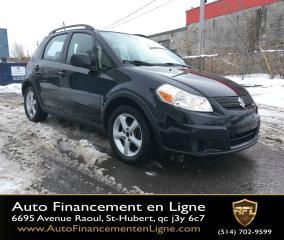 Used 2009 Suzuki SX4 **AWD/AUTOMATIQUE/AIR CLIMATISÉ** for sale in Saint-hubert, QC