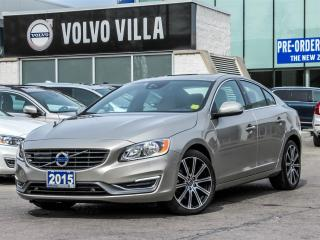 Used 2015 Volvo S60 T6 Drive-E FWD Premier Plus (2) for sale in Thornhill, ON