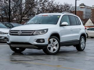Used 2015 Volkswagen Tiguan 4MOTION TECHNOLOGY APPEARANCE PACKAGE for sale in Toronto, ON