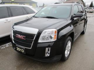 Used 2013 GMC Terrain LOADED SLT-1 MODEL 5 PASSENGER 2.4L - ECO-TEC.. ECON-BOOST.. LEATHER.. HEATED SEATS.. BACK-UP CAMERA.. BLUETOOTH SYSTEM.. for sale in Bradford, ON