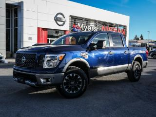 Used 2017 Nissan Titan pro4x, nav, reverse camera. for sale in Orleans, ON