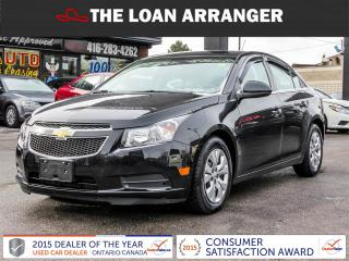 Used 2014 Chevrolet Cruze LT for sale in Barrie, ON