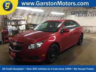 Used 2011 Chevrolet Cruze LT*TURBO*KEYLESS ENTRY w/REMOTE START*CLIMATE CONTROL*POWER WINDOWS/LOCKS/MIRRORS*TRACTION CONTROL* for sale in Cambridge, ON