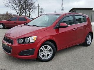 Used 2012 Chevrolet Sonic LT for sale in Cambridge, ON