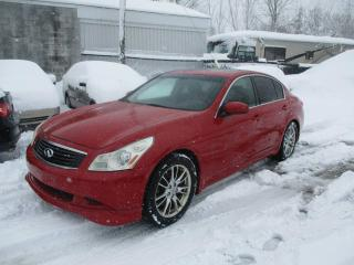 Used 2008 Infiniti G35 4 portes, Luxe, Traction intégrale for sale in Laval, QC