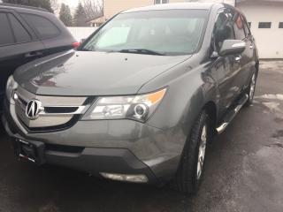 Used 2007 Acura MDX 4WD 4dr Tech Pkg for sale in Hamilton, ON