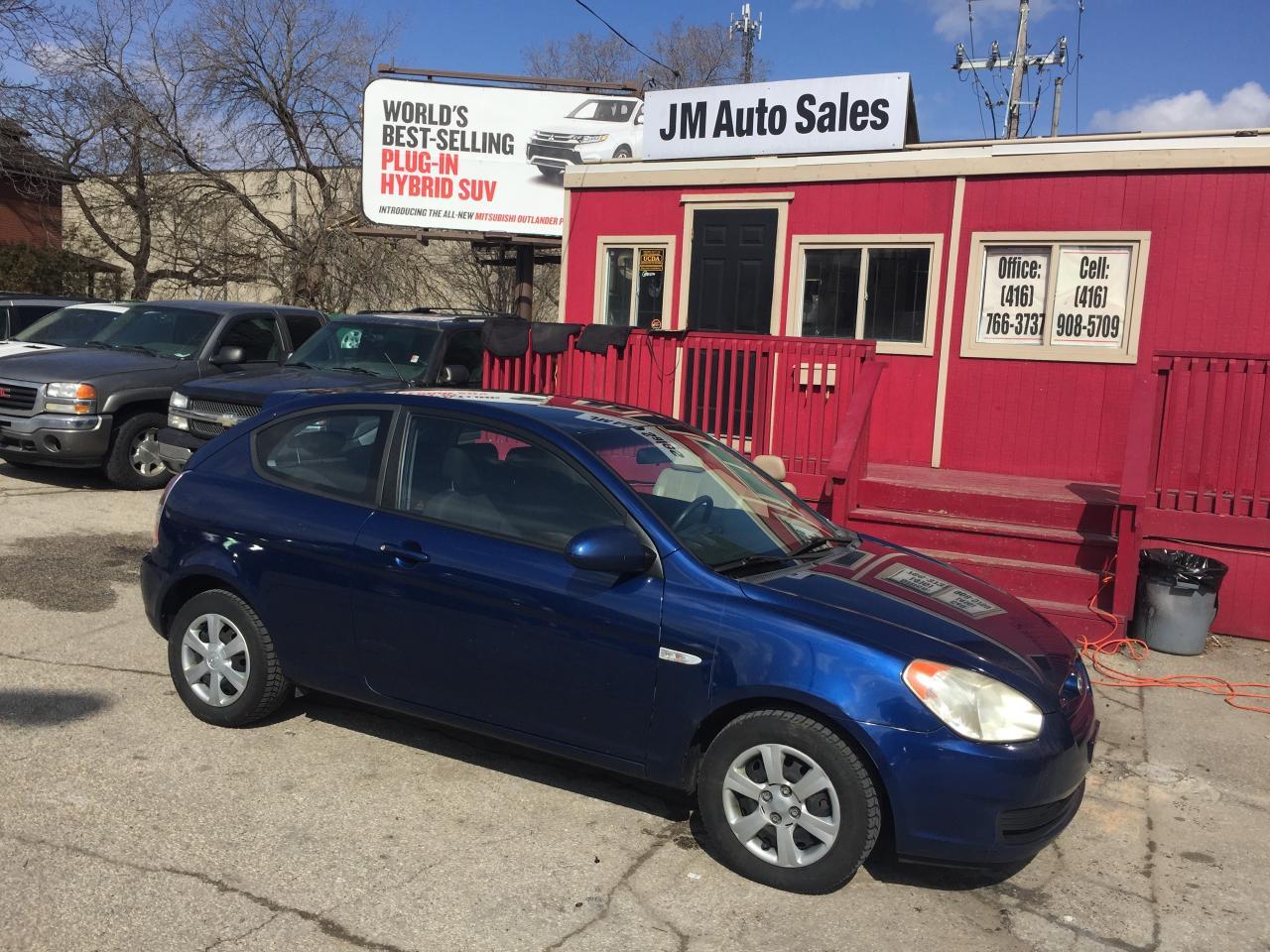 Photo of Blue 2007 Hyundai Accent