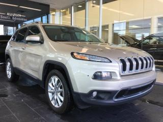 Used 2014 Jeep Cherokee LIMITED, NAVI, 4WD, ACCIDENT FREE for sale in Edmonton, AB