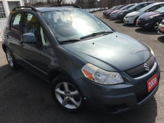 Used 2009 Suzuki SX4 JX/AWD/AUTO/HATCHBACK/LOADED/ALLOYS for sale in Scarborough, ON