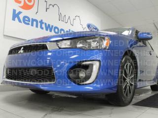 Used 2016 Mitsubishi Lancer 5-SPD manual Limited edition with a sunroof and heated seats for sale in Edmonton, AB