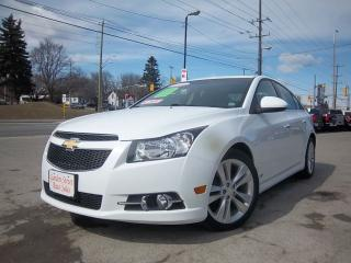 Used 2012 Chevrolet Cruze LTZ Turbo w/1SA for sale in Whitby, ON