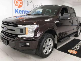 Used 2018 Ford F-150 XLT 4x4 Sport with power heated seats and NAV for sale in Edmonton, AB