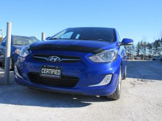 Used 2013 Hyundai Accent GLS HATCH / ACCIDENT FREE / SERVICE HISTORY for sale in Newmarket, ON