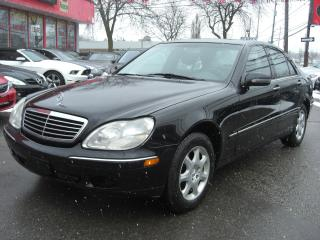 Used 2000 Mercedes-Benz S-Class S430 for sale in London, ON