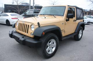 Used 2014 Jeep Wrangler SPORT for sale in North York, ON