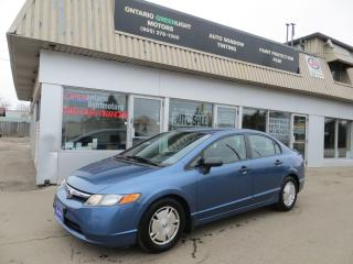 Used 2008 Honda Civic AUTOMATIC, DX-G,ALLOYS,CRUISE,ALL POWERED for sale in Mississauga, ON