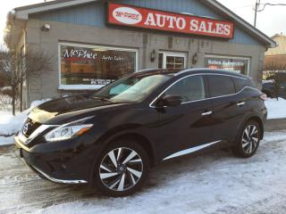 Used 2016 Nissan Murano Platinum for sale in London, ON