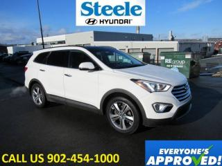 Used 2015 Hyundai Santa Fe Limited AWD V6 Leather Sunroof Navi cooled seats loaded! for sale in Halifax, NS