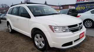 Used 2013 Dodge Journey Canada Value Pkg, 4 CY, Only 101 km for sale in Scarborough, ON