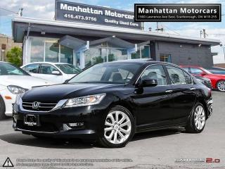 Used 2014 Honda Accord TOURING |NAV|ROOF|PHONE|LEATHER|CAMERA|SIDECAM for sale in Scarborough, ON
